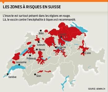 Tiques zones a risque